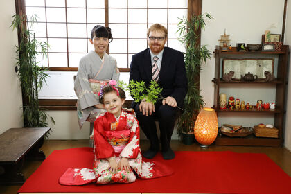 japanese house photo studio located in yanaka for foreign families